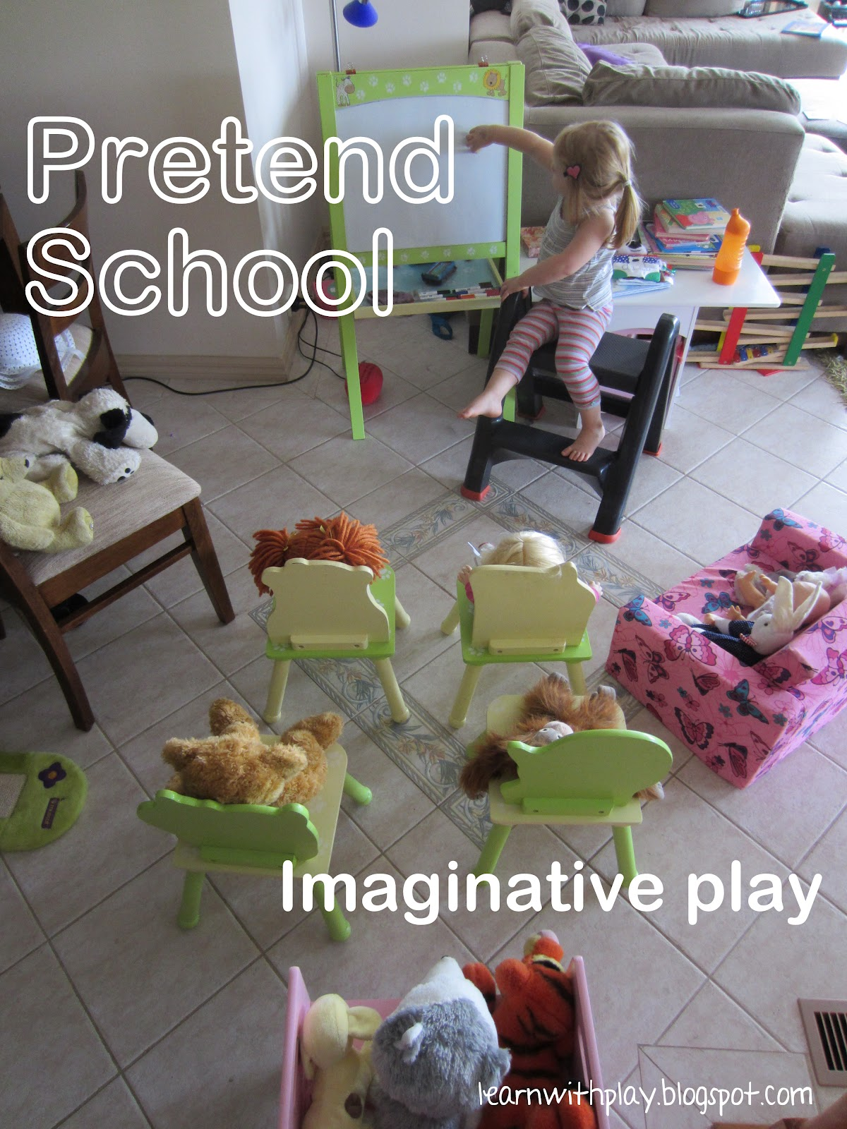 Learn With Play At Home Pretend School Imaginative Play