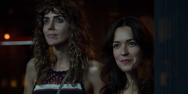 Verónica Sánchez e Irene Arcos en la segunda temporada de 'El Embarcadero'