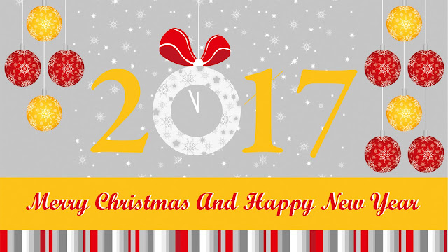 Christmas & New Year 2017 image