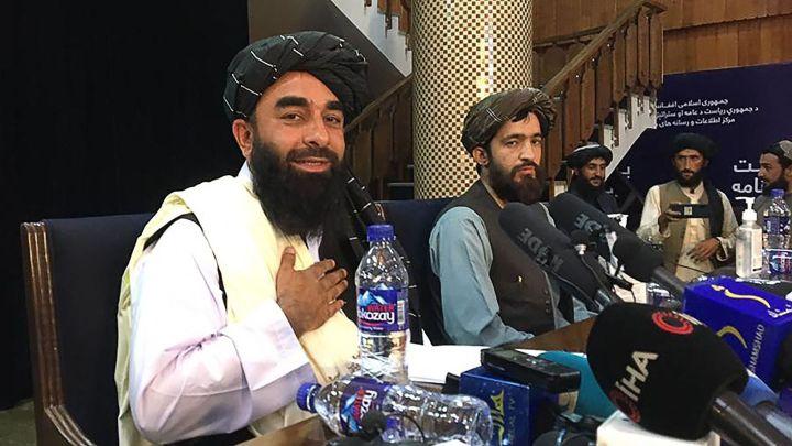 Konferensi Pers Pertama Taliban, Juru Bicara: Afghanistan Akan Menjadi Negara Islam!