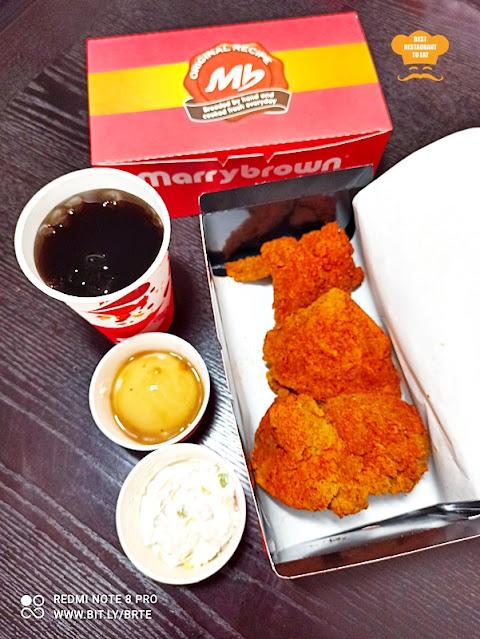 Marrybrown MB Mala Fried Chicken 3 Pcs Combo Set