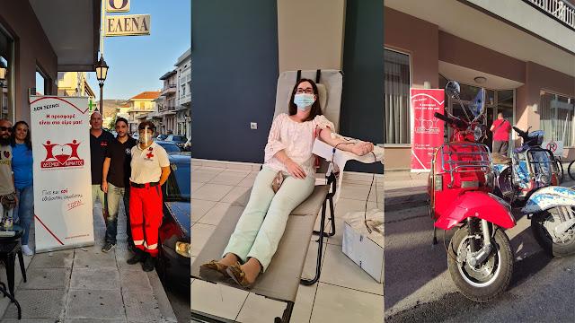 Ολοκληρώθηκε η πρώτη μέρα της 133ης εθελοντικής αιμοδοσίας στο Ναύπλιο
