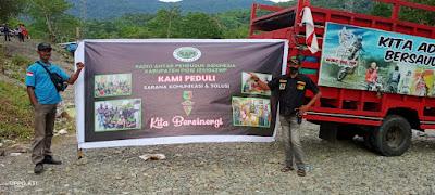 Anggota RAPI 0104 Pidie Melakukan Camping Bersama Antar Lintas Komunitas di Geunie Tangse