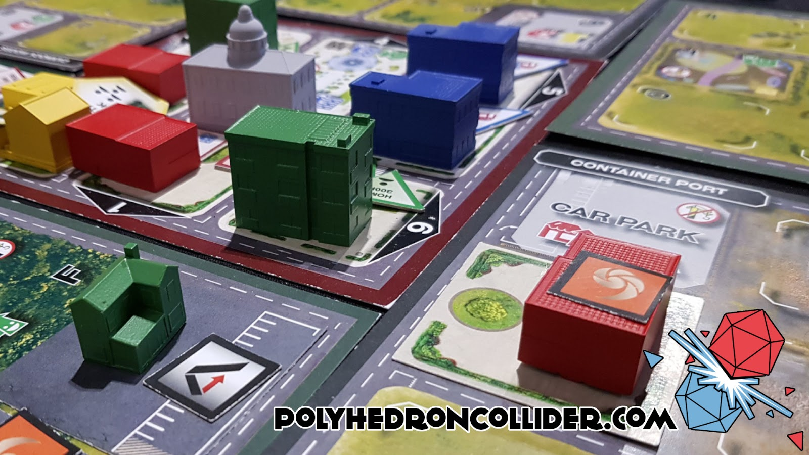 Kickstarter Highlight Magnate The First City Building Game - In the Beginning