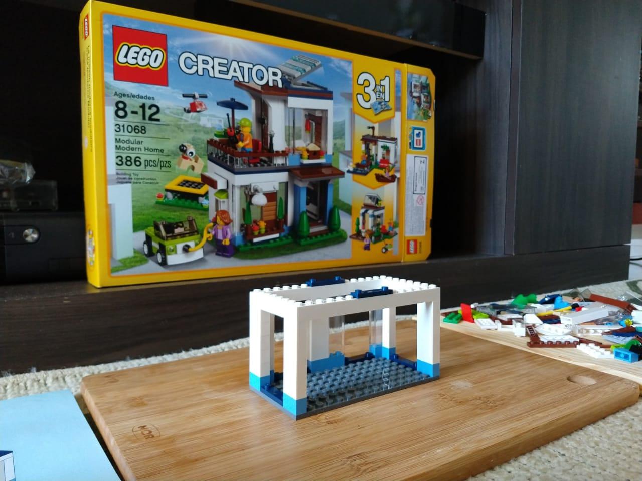 lego modular home 1