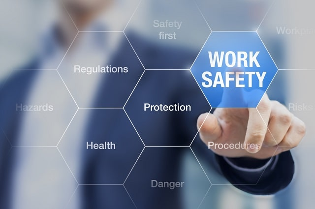 steps ensuring safety in the workplace