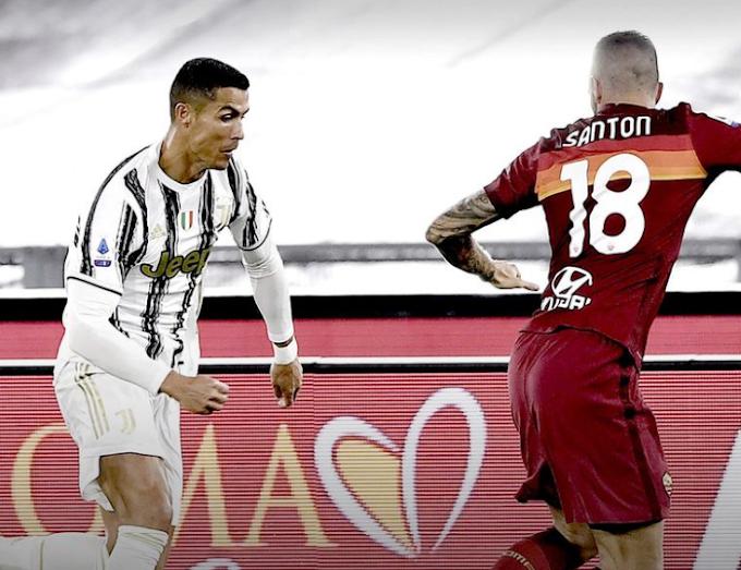 Cr7 salva la Juve: con la Roma finisce 2-2