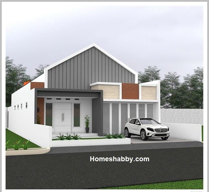Desain Dan Denah Rumah Cantik Ukuran 9 X 25 M 3 Kamar Tidur Garasi Mobil Yang Nampak Luas Dan Nyaman Homeshabby Com Design Home Plans Home Decorating And Interior Design