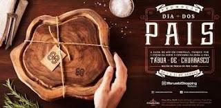 Promoção Morumbi Shopping Dia dos Pais 2019 - Tábua de Churrasco Madeira Reflorestamento