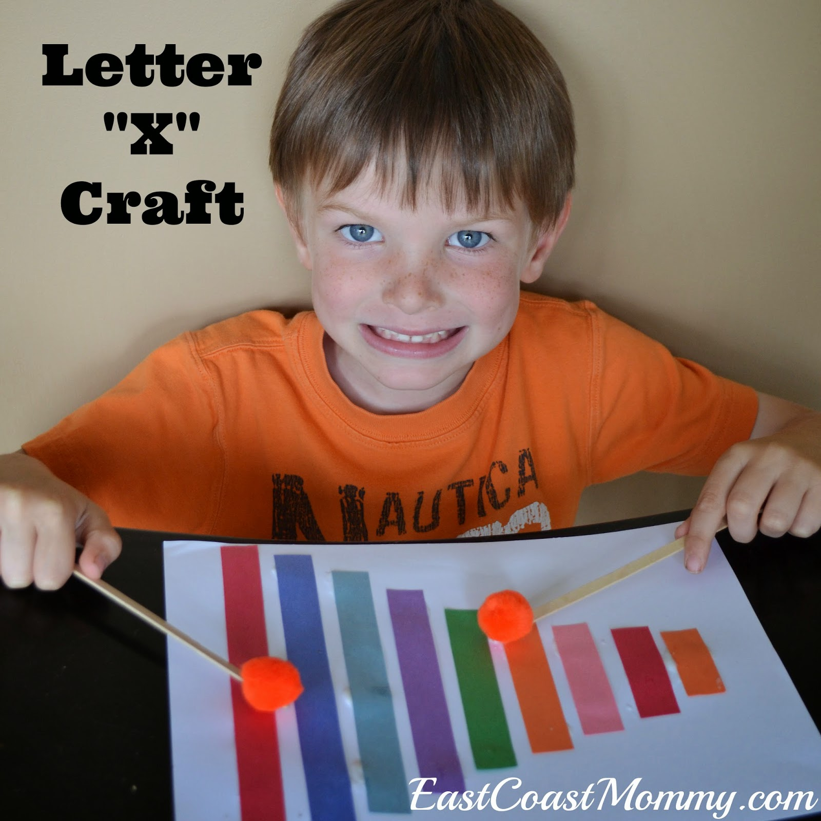 East Coast Mommy: Alphabet Crafts