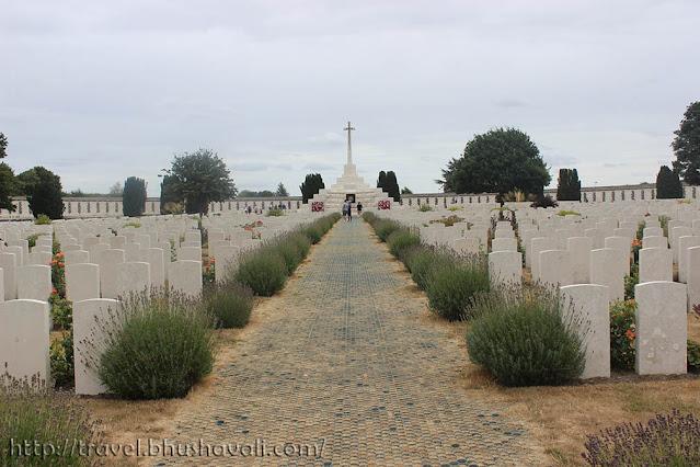 Tyne Cot War Graves Cemetery First World War Ypres Salient