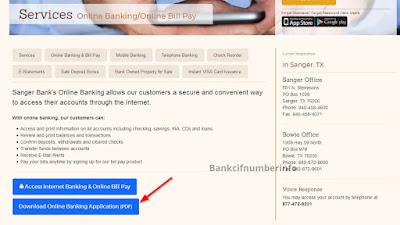 Sanger Bank Online Banking