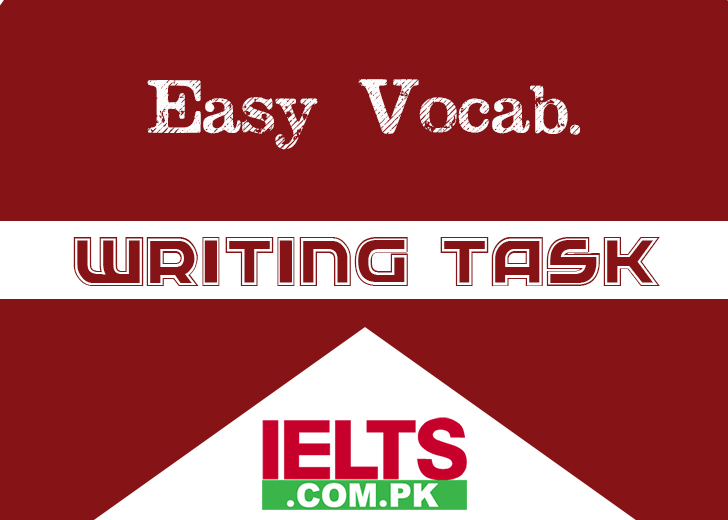 Easy Vocabulary Words for IELTS Writing Task