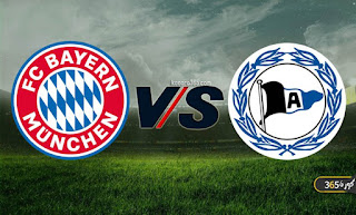 موعد مباراة بايرن ميونخ ضد أرمينيا بيلفيلد اليوم كورة 4 جول في الدوري الألماني