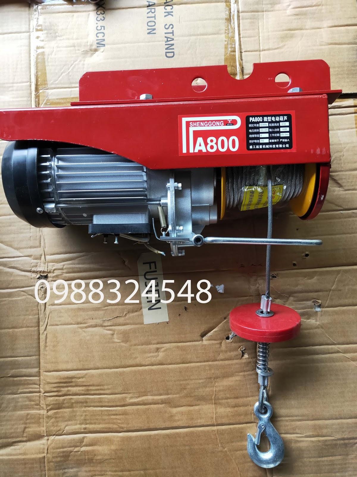 Tời cáp điện PA-800 800kg