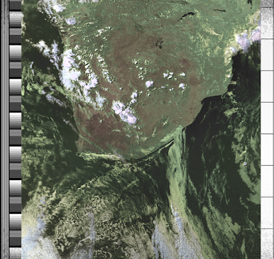 ZR6AIC: Receiving NOAA weather satellite images with a RTL