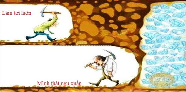 Những người không thành công không có đủ kiên nhẫn để đợi và xem chuyện gì xảy ra trong vài tháng hoặc thậm chí vài năm tới. Nếu mọi thứ đến quá nhanh và dễ dàng thì tại sao mọi người vẫn không thành đạt?