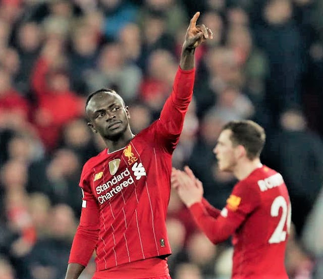 EPL: Sadio Mane Secures Win For Liverpool With VAR Help