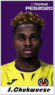 PES 2020 Faces Samuel Chukwueze by Shaft