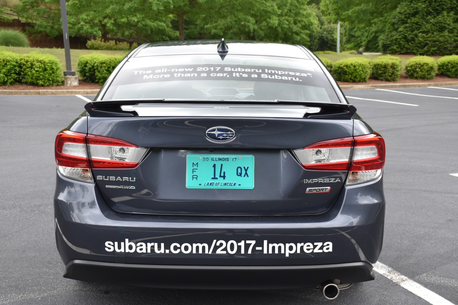 In and Out of Town: 2017 Subaru Impreza  via  www.productreviewmom.com