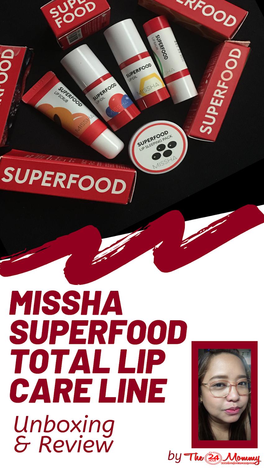 Myeongdong Shopping Haul: MISSHA Superfood Lip Care Line