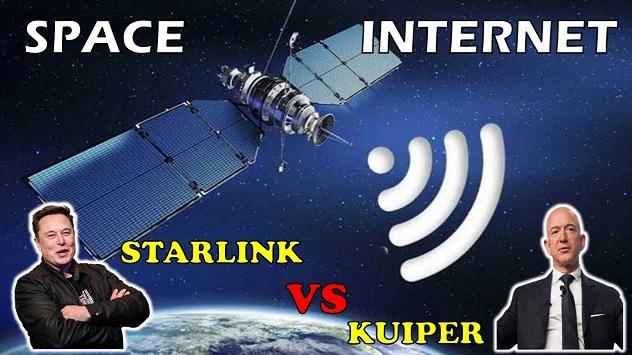 Gigantes competem por Internet via Satélite