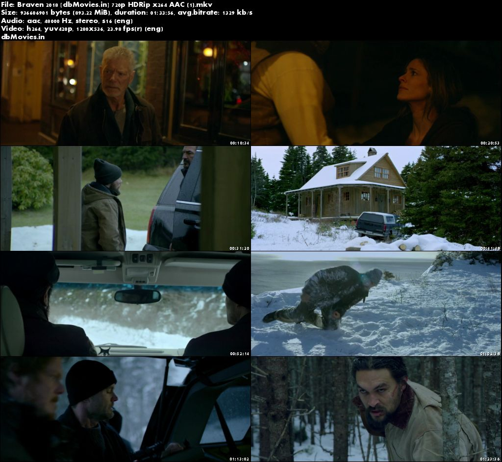 Screen Shots Braven 2018 Full Movie Download HD 720p Free