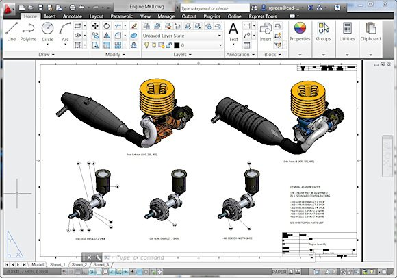 AutoCAD 2012 Free Download Full Version