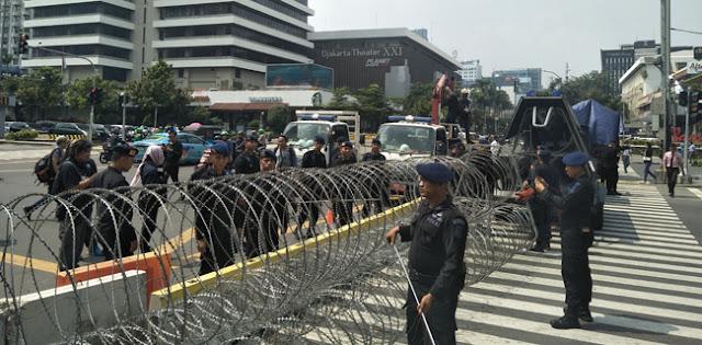Tujuh Tuntutan Hima Persis Di Patung Kuda, Salah Satunya Minta Jokowi Hentikan Refresif Aparat