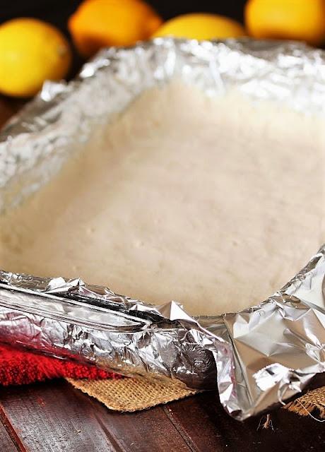 Crust for Lemon-Coconut Bars Image