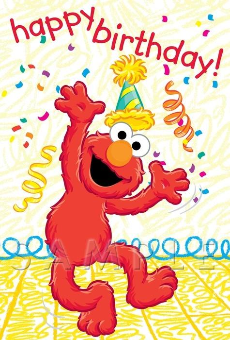elmo happy birthday Hanging Off The Wire: Happy Birthday Elmo! elmo happy birthday
