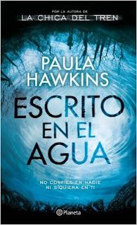 """Reseña de """"Escrito en el agua"""" - Paula Hawkins"""
