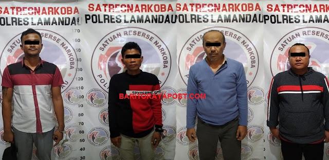 Satresnarkoba Polres Lamandau Kembali Ringkus 4 Pelaku Penyalahgunaan Narkotika