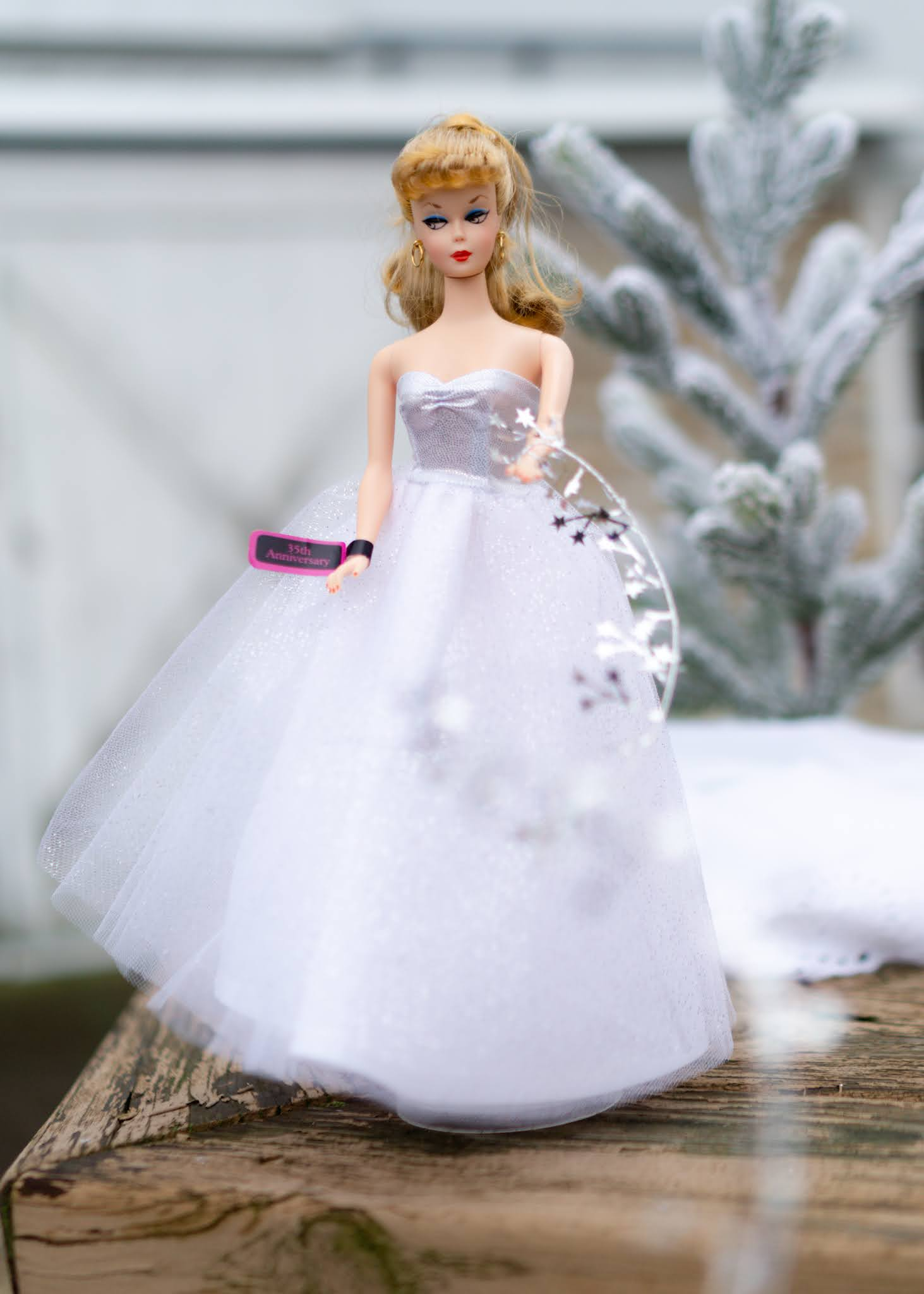Here is 2020's Holiday Barbie.