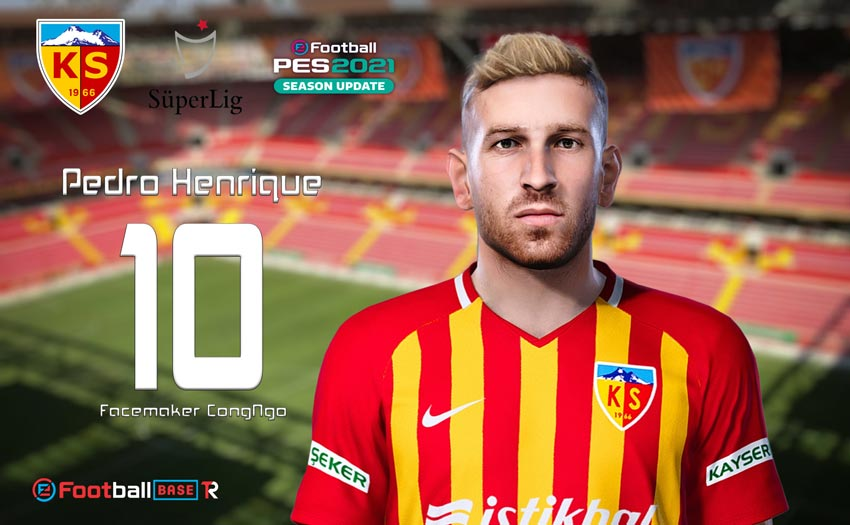 Pedro Henrique Face For eFootball PES 2021