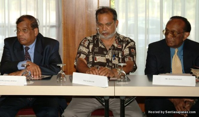 Prof. Ramasamy - AJK LTTE