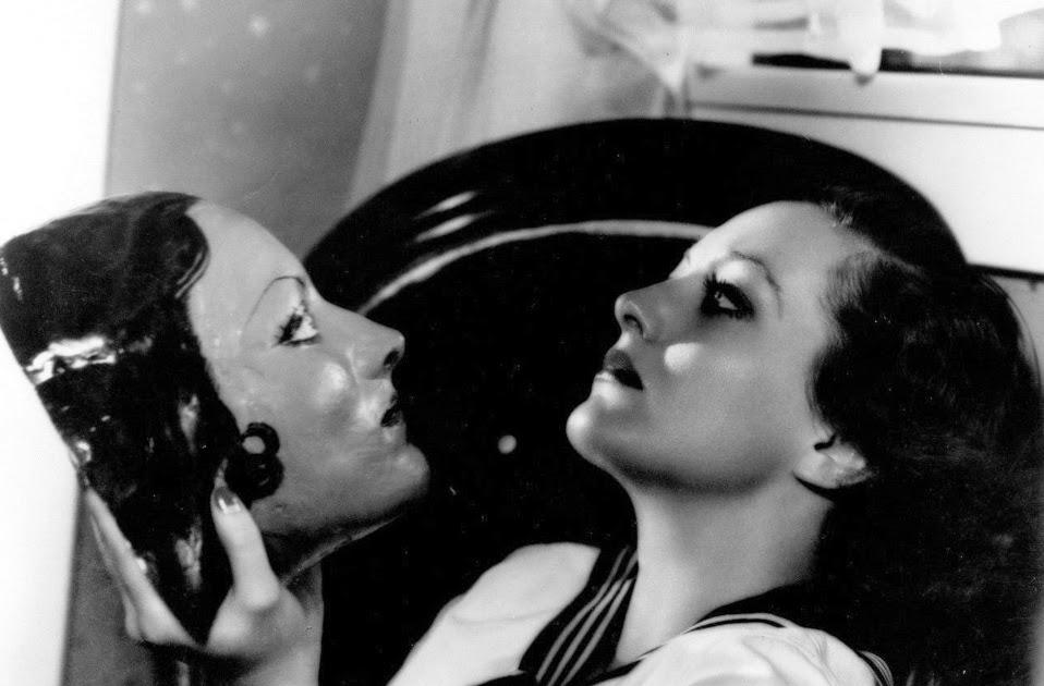 Joan Crawford's Lifelike Mask, Created by Richard Cromwell, ca. 1930s