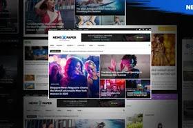 [Themeidn] NewsPaper X Pro Blogger Template