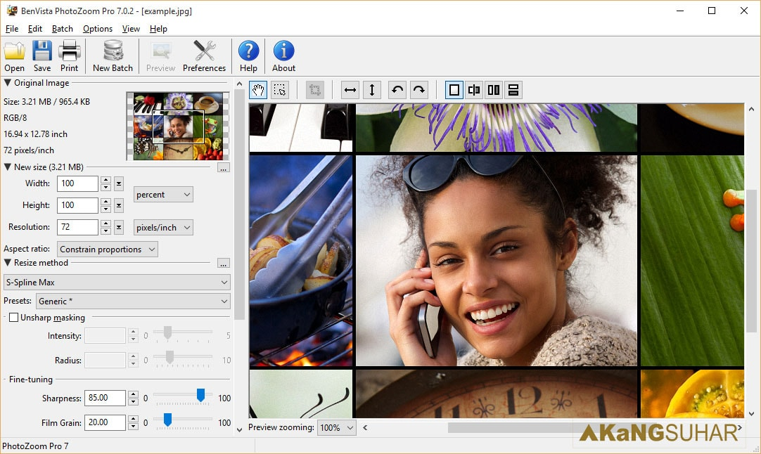 Download Benvista PhotoZoom Pro 7.0.2 Full Version