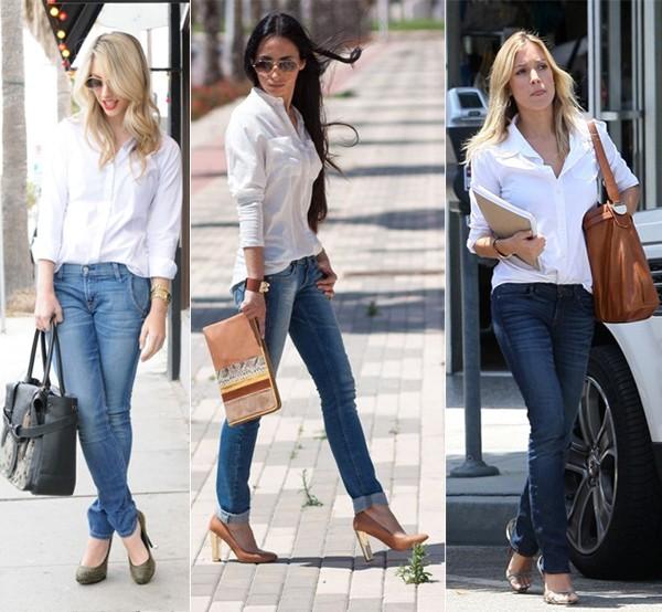 Blusas ou Camisas Brancas
