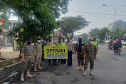 Tiga Pilar Polrestabes Laksanakan Operasi Yustisi Gaktiplin