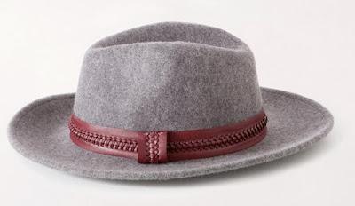 szare kapelusze