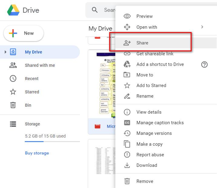 Cara Membagikan File Yang Tersimpan Di Google Drive Bagaimana Pak