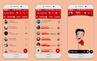 Betty Boop Girl Theme For YOWhatsApp & Fouad WhatsApp By Leidiane