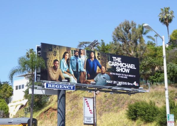 Carmichael Show season 3 billboard