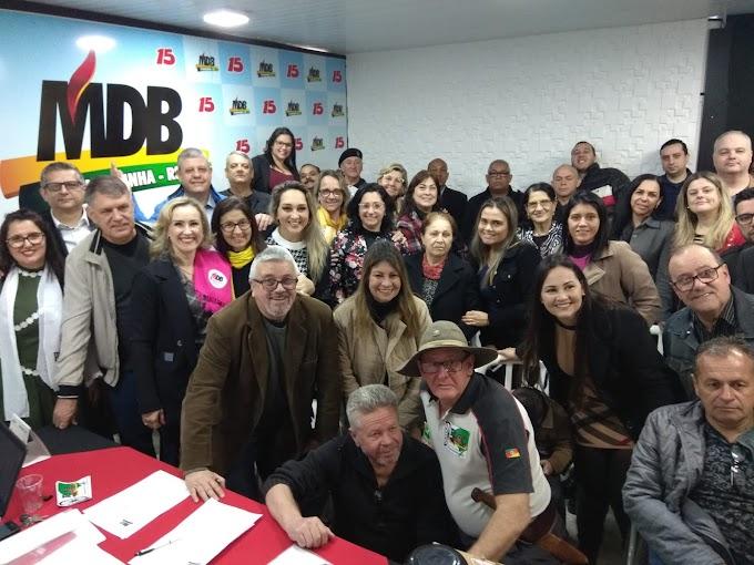 Convenção do MDB de Cachoeirinha elege novos membros do Diretório Municipal