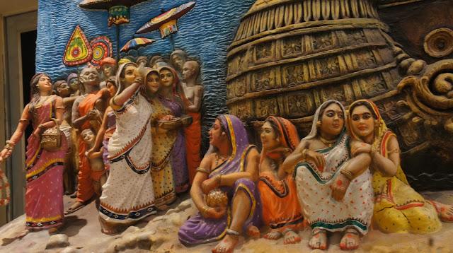 Bali jatra - Boita bandhan - Trip to Bali from Odisha Dipicted in Arts and cultural history of Odisha