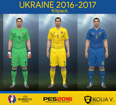 PES 2016 Ukraine 2016-2017 Kitpack by Kolia V