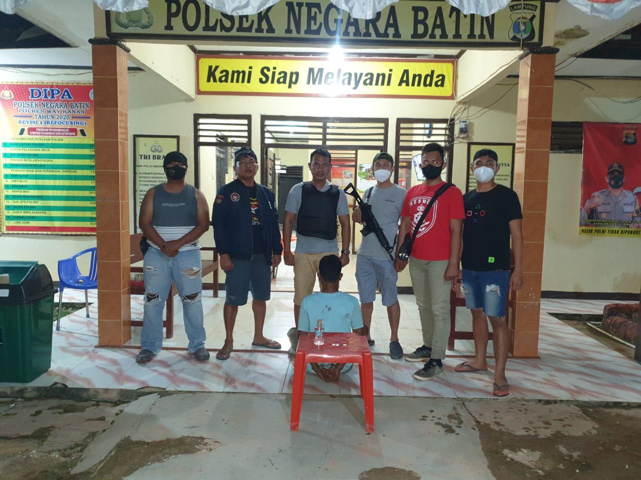 Operasi Antik Krakatau 2021, Polisi Amankan Pelaku Miliki Sabu di Negara Batin