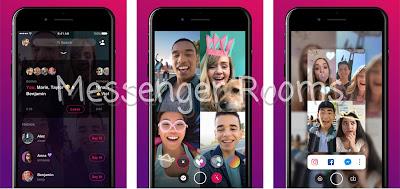 فيسبوك تطلق Messenger Rooms لمحادثات الفيديو الجماعية لمنافسة تطبيق Zoom